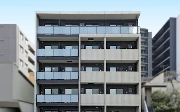 大東建託が建設する賃貸住宅(東京・足立)