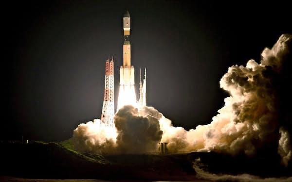 三菱重工はH2Bロケット最終機の打ち上げに成功した(三菱重工・JAXA提供)