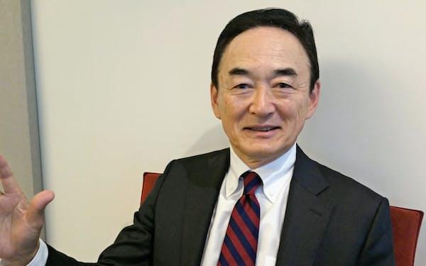 富士通の阿部敦・取締役会議長