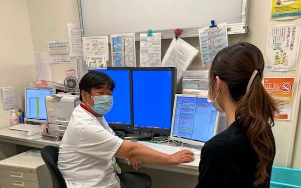 潰瘍性大腸炎は新薬が相次ぎ登場し、治療の選択肢が増えた(大阪府高槻市の大阪医科大学付属病院、同大学提供)。