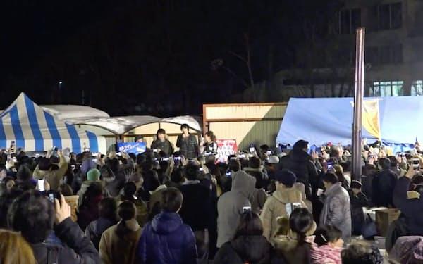名物イベントの「ストーブパーティー」の様子(19年3月、夕張市)(C)ゆうばり国際ファンタスティック映画祭2019
