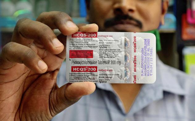 トランプ氏が服用していた抗マラリア薬「ヒドロキシクロロキン」=AP