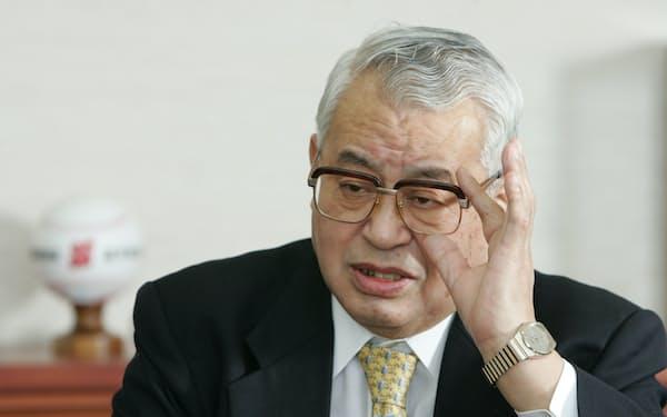 JR東日本元会長の松田昌士氏