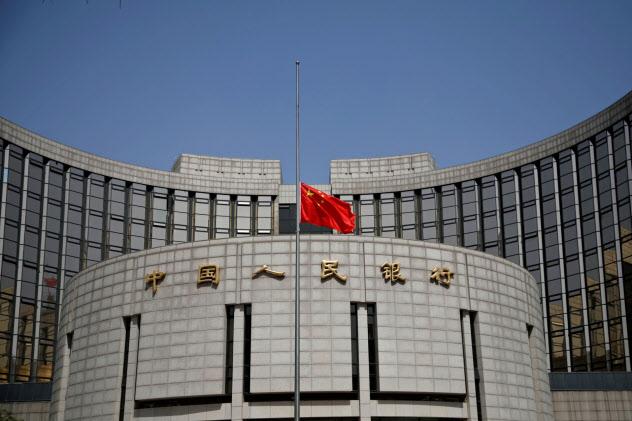 市場で元安圧力が強まっている(中国人民銀行)=ロイター