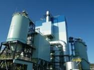24日に稼働したJXTGエネルギーの室蘭バイオマス発電所(北海道室蘭市)