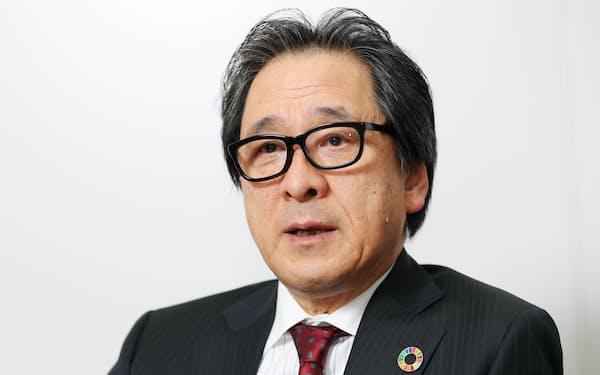 石毛博行・日本国際博覧会協会事務総長(2019年11月撮影)