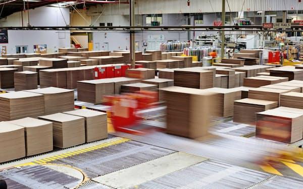 日本製紙は段ボール・包装材分野で海外展開を加速する(買収したオローラの拠点)