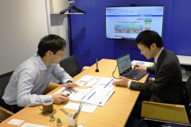 兼子将之さん(29)は転職を機に積み立て投資を始めた。