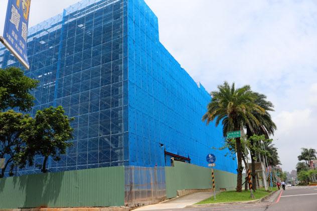 クアンタの台湾での工場建設はコロナ発生後も続く(台湾北部・桃園市)