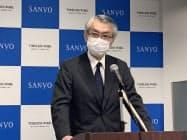 株主総会では大江伸治副社長ら、会社側が提案した9人が取締役に選任された(26日、東京・新宿)