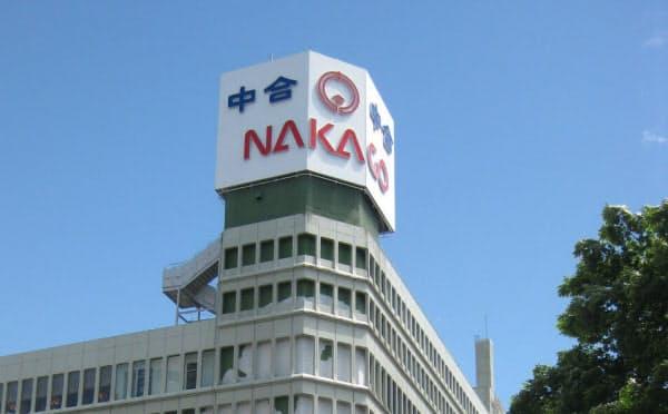 中合はJR福島駅前の福島店を8月末で閉店。会社は清算する