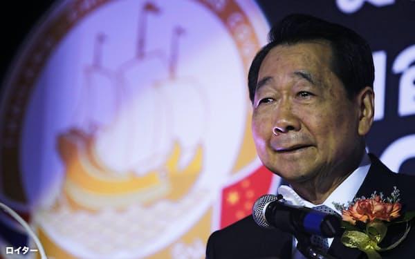 タニン・チャラワノン氏が上級会長を務めるタイ最大の財閥チャロン・ポカパン(CP)グループはさまざまな新型コロナウイルス対策支援に乗り出している=ロイター