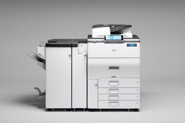 リコー、クラウド対応のオフィス向け最上位複合機