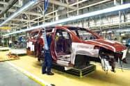 日産は3月下旬から休止していた米国の生産を再開する(ミシシッピ州のキャントン工場)