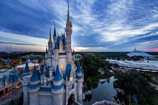 米ウォルト・ディズニーはフロリダ州にある「ディズニーワールド」を7月11日に再開する計画を公表した(写真はディズニー提供)
