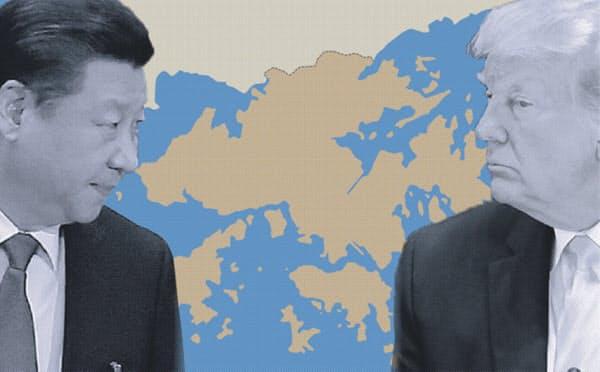 中国外務省は米国で成立した香港自治法に「強烈な非難」を表明した