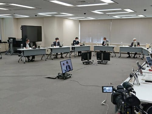5月28日の原子力規制委員会定例会(東京・港)