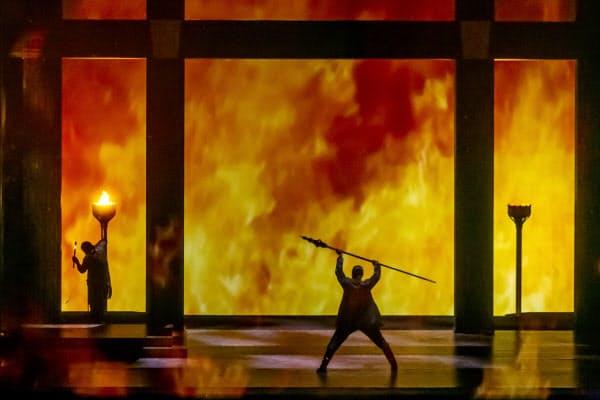 びわ湖ホールが無料配信したオペラ「神々の黄昏」は視聴者数が数万人に達した=びわ湖ホール提供