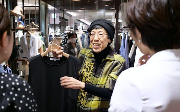 将来どういう自分になりたいか、という目標から逆算して、今のファッションを考えるのが大切と西ゆり子さん