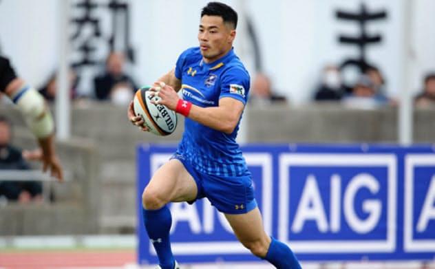 山田章仁は昨年、NTTコミュニケーションズに移籍。ラグビーの枠を超えた活動を続けている=NTTコミュニケーションズ提供