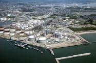 東北電力は全ての火力発電所に運用効率向上のためのシステムを導入した(写真は仙台市の新仙台火力発電所)