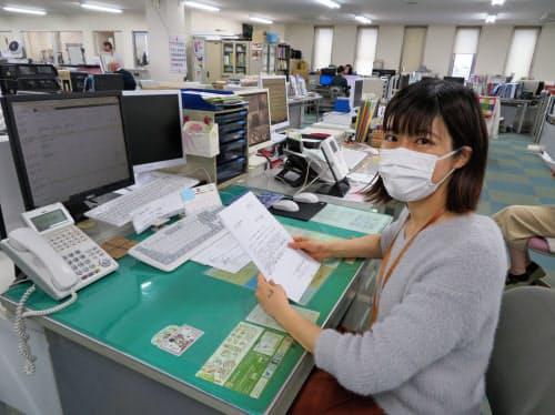 リーダーの飯田友梨子さんは出産後も働き続けられる会社として同社を選んだ(企業提供)