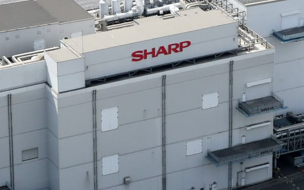 亀山工場で開発・生産する中小型液晶パネルなどの事業を分社化する