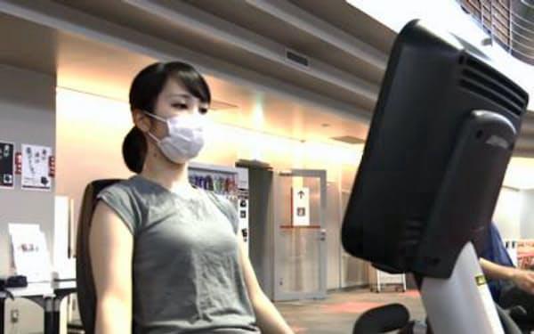 コナミスポーツでは利用客にマスクを着用してもらうなど感染防止を図る