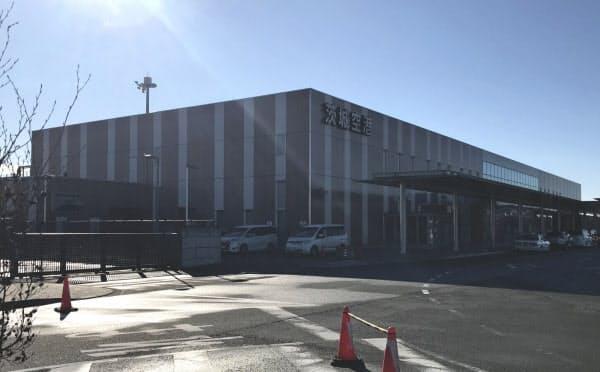 新型コロナの影響で茨城空港は全便運休が続く