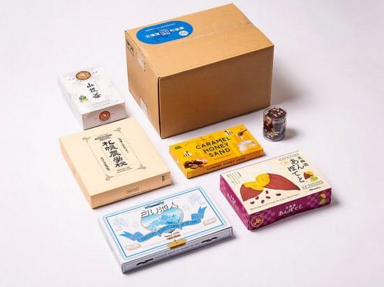 6社の商品が1箱で楽しめる
