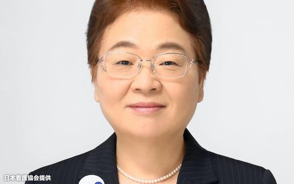 日本看護協会会長 福井トシ子氏