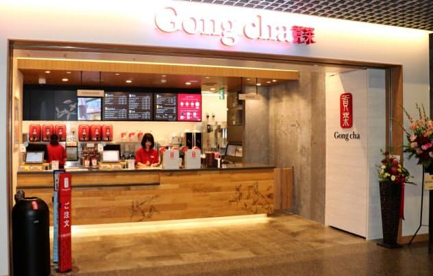 台湾ティーカフェの「ゴンチャ」は出店拡大の方針を転換、デリバリーに重点を置くという