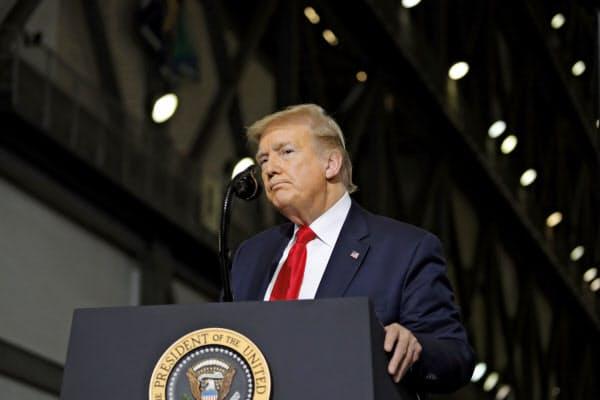 トランプ米大統領はG7サミットを9月に延期する意向を表明した=AP