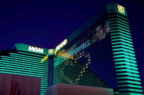 試合会場はラスベガスのMGMグランドホテル内に設けられる=ロイター
