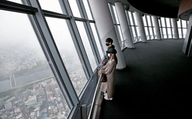 東京スカイツリーが営業再開