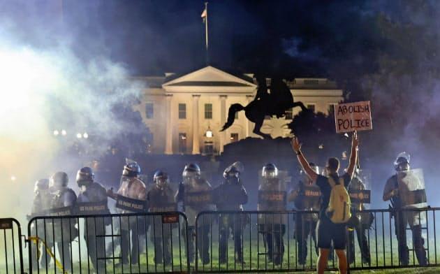 米、深まる社会分断 デモ急拡大で民主主義に試練