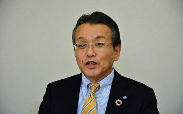 「新型コロナで健康志向はますます高まる」と話すファンケルの島田和幸社長