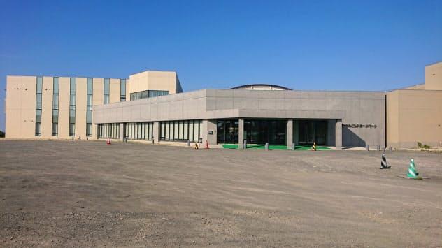 カーリング場などを整備した「みどりスポーツパーク」(稚内市)