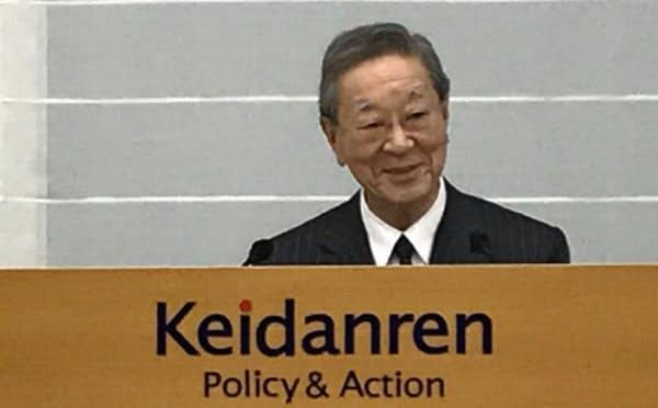 5月末で就任3年目を迎えた中西・経団連会長