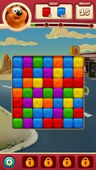 ピーク・ゲームスの「トゥーンブラスト」のゲーム画面