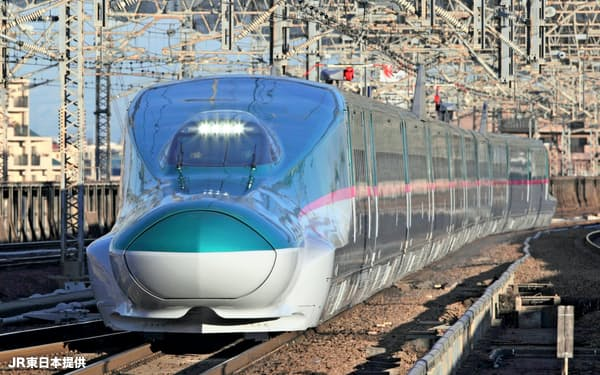新幹線利用者は増加傾向にある