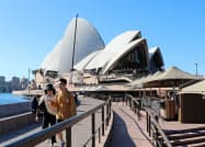 新型コロナは豪経済に長期に影響を及ぼしそうだ(5月下旬、シドニー)