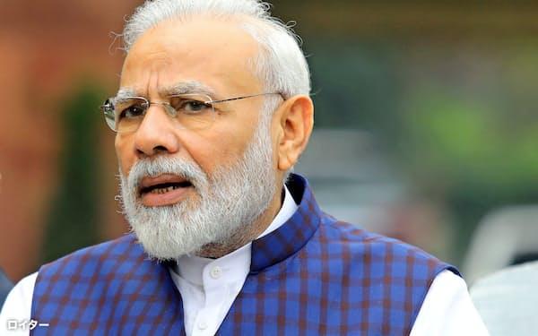 インドのモディ首相(2019年11月)=ロイター