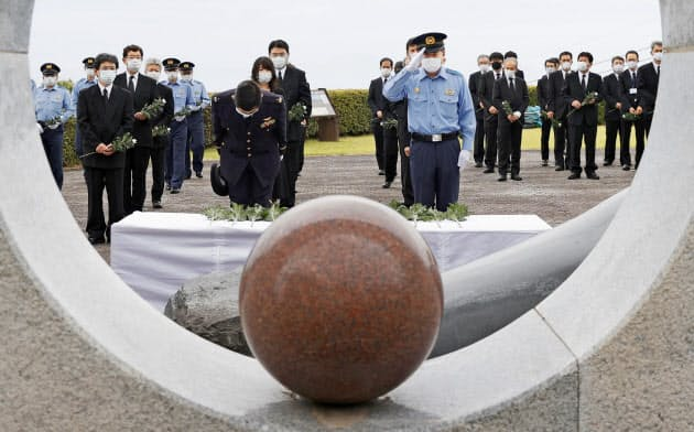 大火砕流29年、犠牲者悼む 雲仙・普賢岳