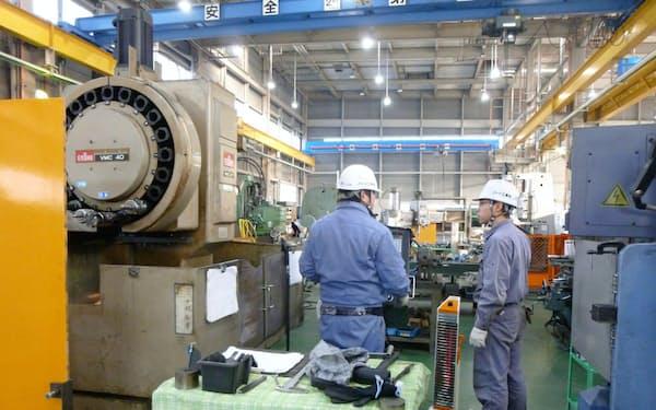 ハード工業は工場の拡張も視野に入れる(青森県八戸市)
