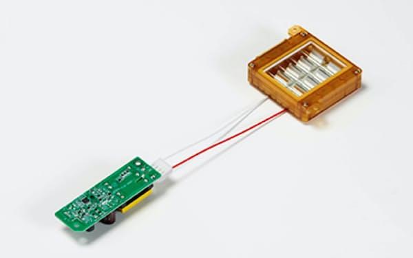 ウシオ電機が開発した、人体に影響を及ぼさない紫外線照射モジュール