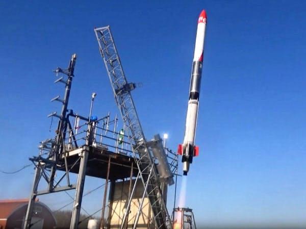 インターステラテクノロジズは延期となっていた「モモ」5号機を6月中に打ち上げると発表した(写真はモモ3号機)