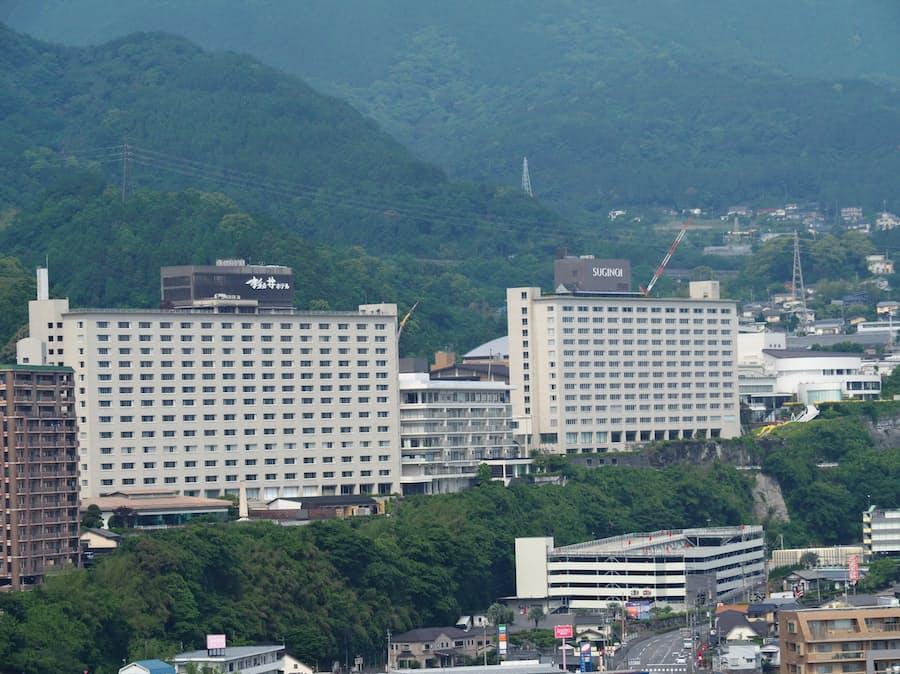 杉 乃井 ホテル
