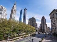 マンハッタンのアパート成約件数は5月に8割減少した=ロイター