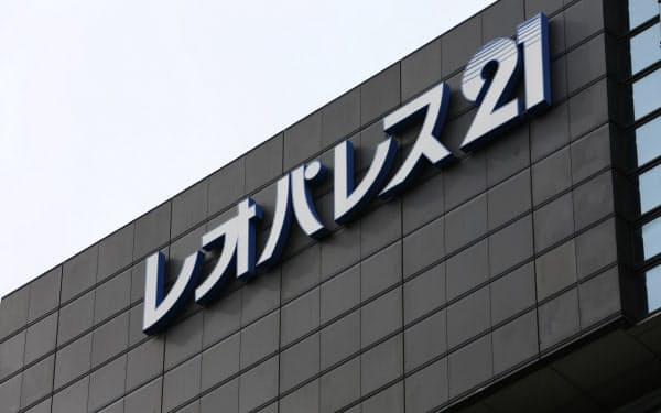 従来予想では304億円の赤字だった(東京都中野区にあるレオパレス21本社)